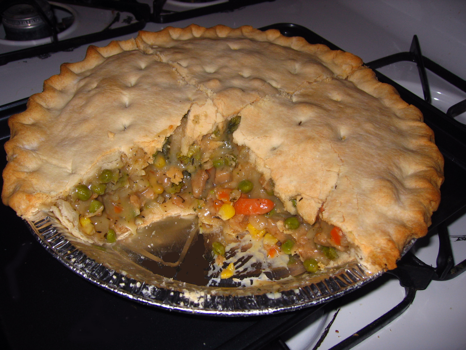 ... Planner - Recipe - Mama Wilson's Vegetarian Pot Pie by Kevinrosswilson