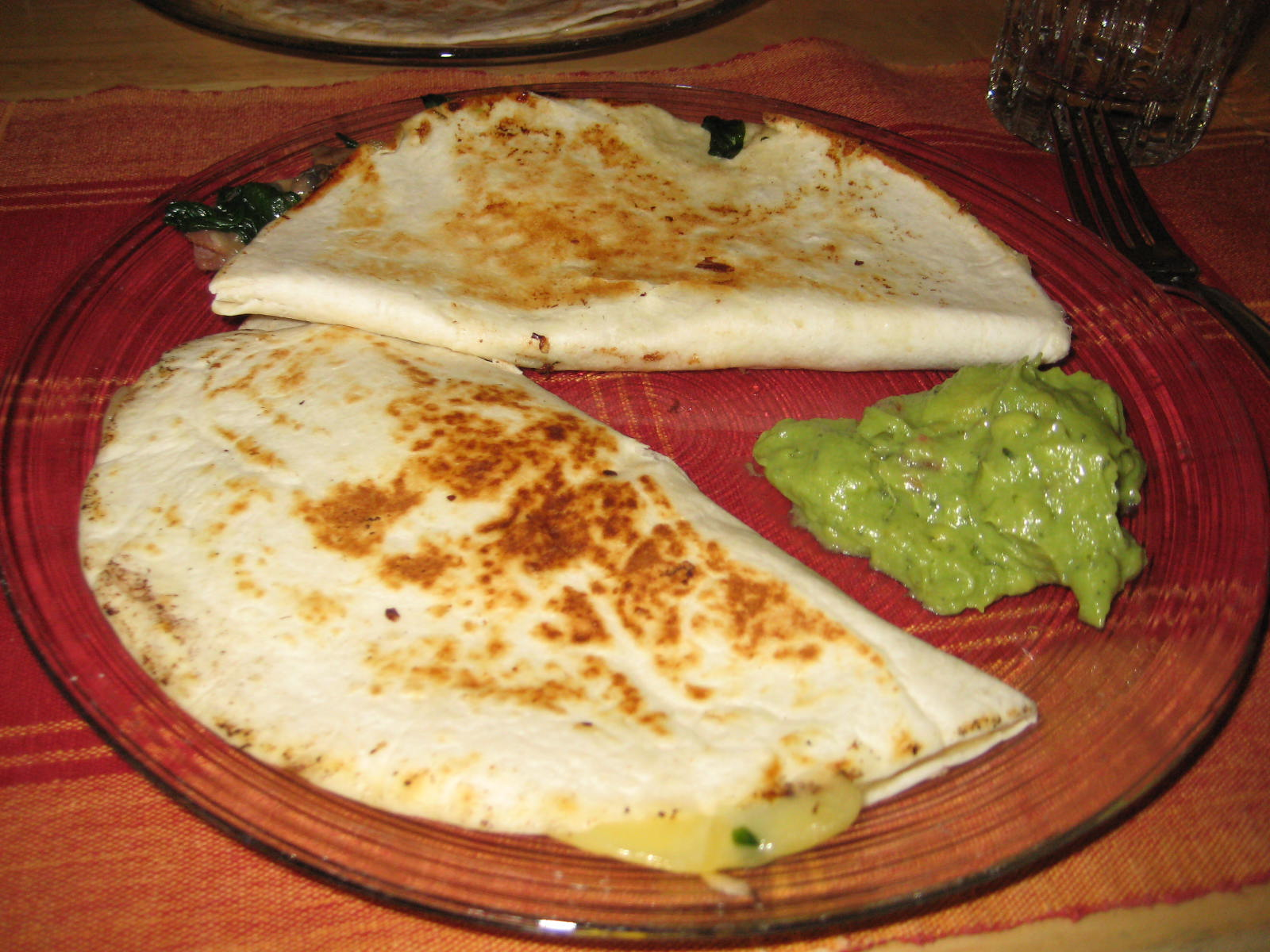 Tasty Planner - Recipe - Spinach and Mushroom Quesadilla by Johnny ...