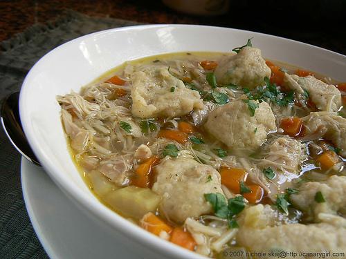 Chicken Soup With Dumplings Recipe Chicken Amp Dumpling Soup by