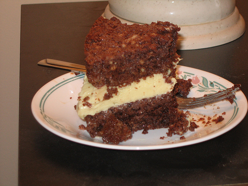 ... Planner - Recipe - Chocolate Tres Leches Cake with Custard by Meer