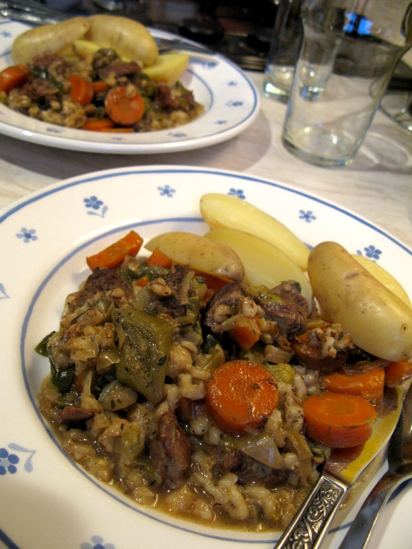 Slow Cooker Lamb & Barley Stew by Nimoloth - Recipe - Tasty Planner