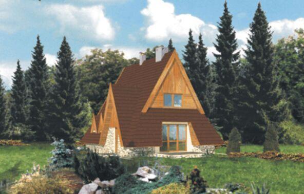 Projekt domu WB-3333 1