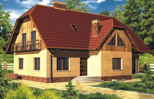 Projekt domu �urawina 1