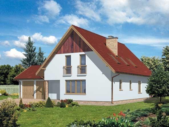 Projekt domu WB-3982 1