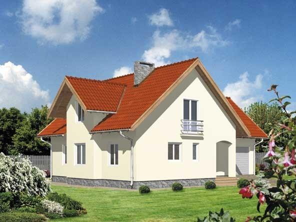 Projekt domu WB-3943 1