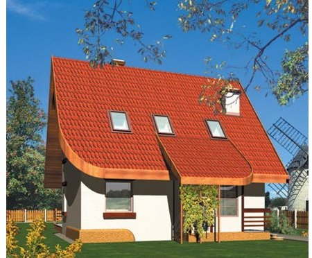 Projekt domu Tola (e. II) 1