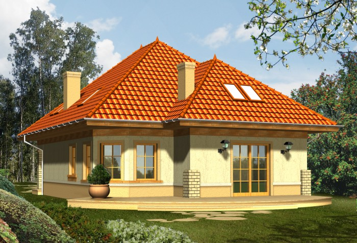 Projekt domu EDEN 1