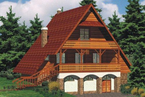 Projekt domu Lubomierz 1