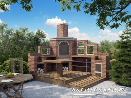 Projekt domu Wędzarnia w02 1
