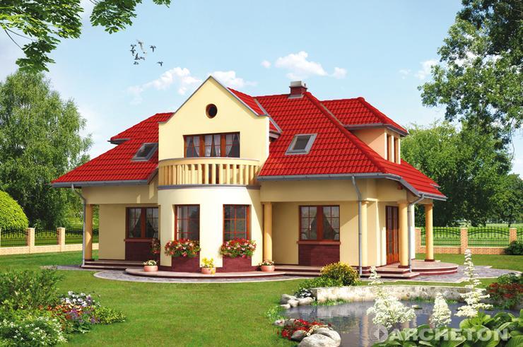 Projekt domu Nefryt 1