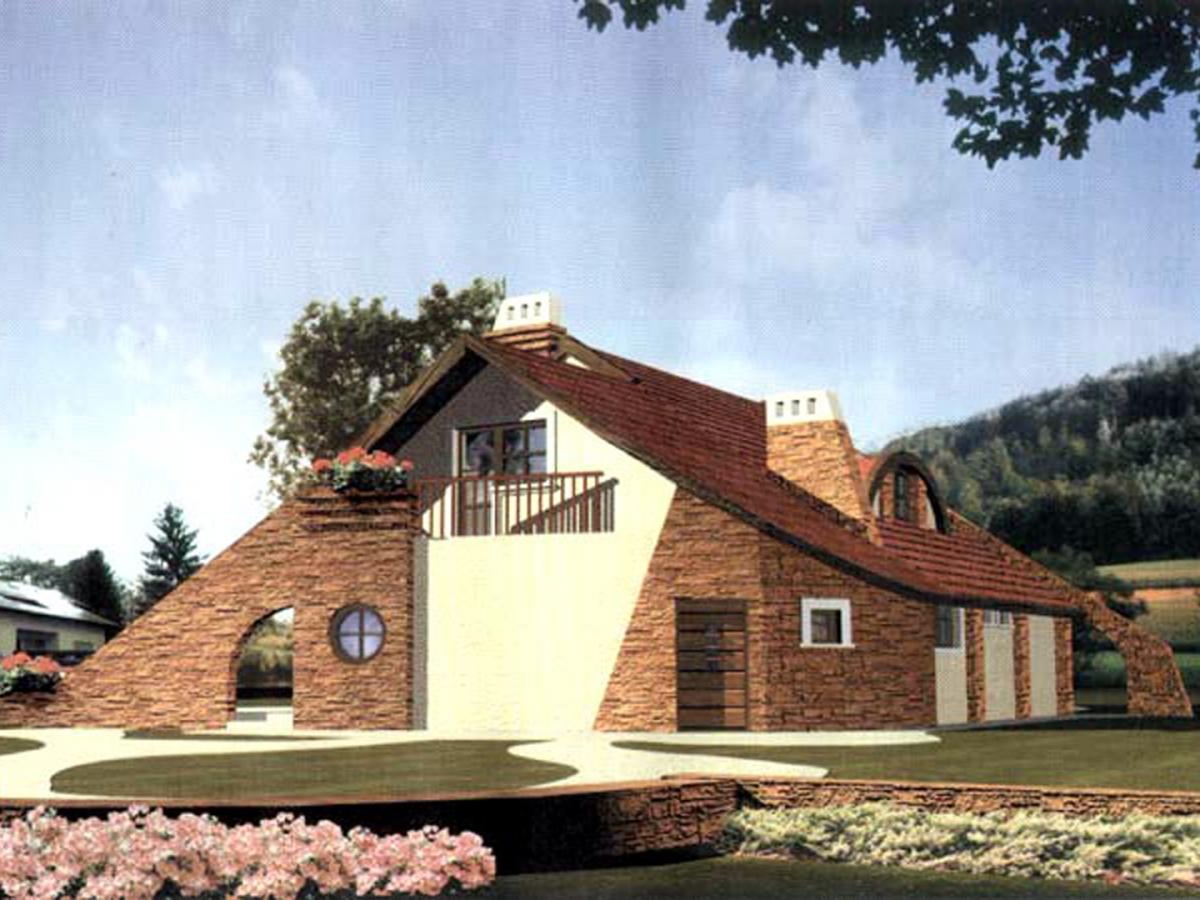 Projekt domu Loreta 1