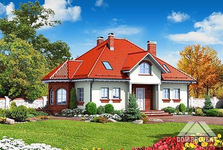 Projekt domu zad�bie �rednie 12 1