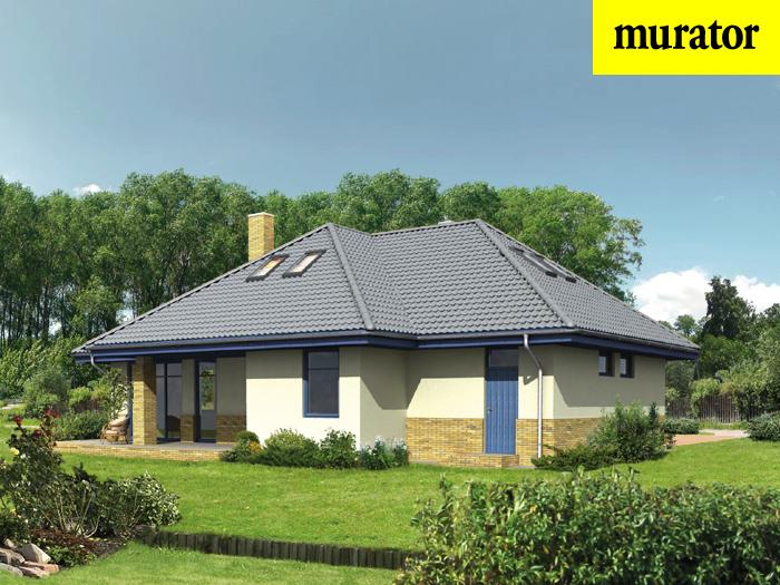 Projekt domu Niewielki - wariant I (energooszczędny) - EM05a 1