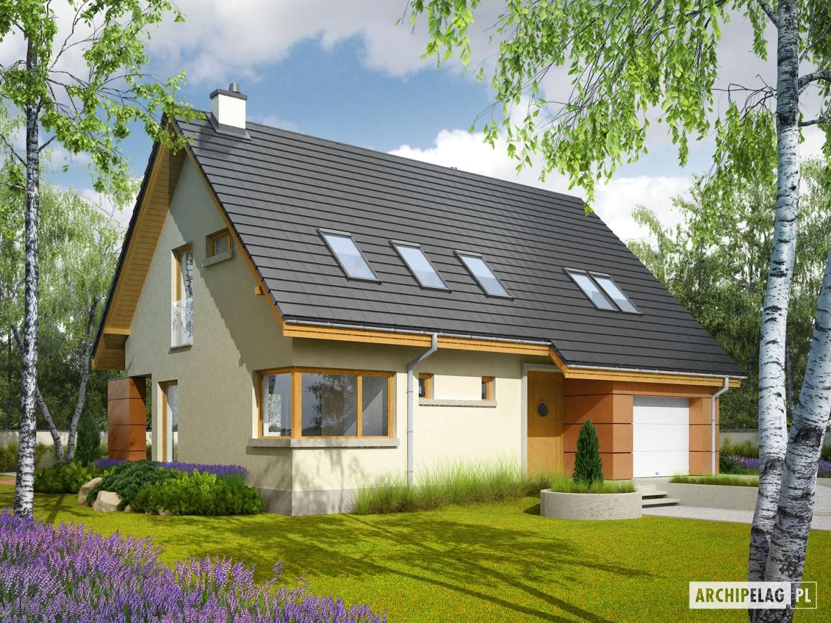 Projekt domu Tolek G1 (w. II) 1
