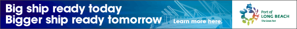 Port of Long Beach Banner Ad