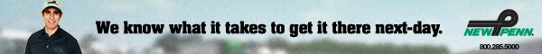 YRC New Penn Banner Ad