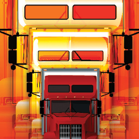 Illustration of a truck