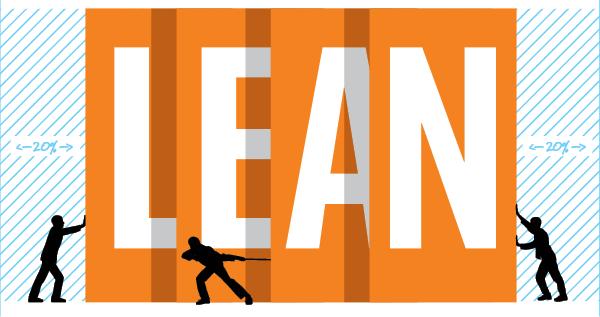 Illustration representing Lean improvements