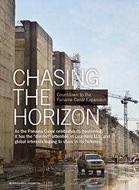 Chasing The Horizon: Countdown to Panama Canal Expansion Cover