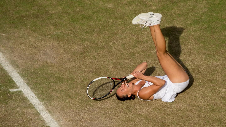 Jelena Jankovic upset Petra Kvitova on Day 6.