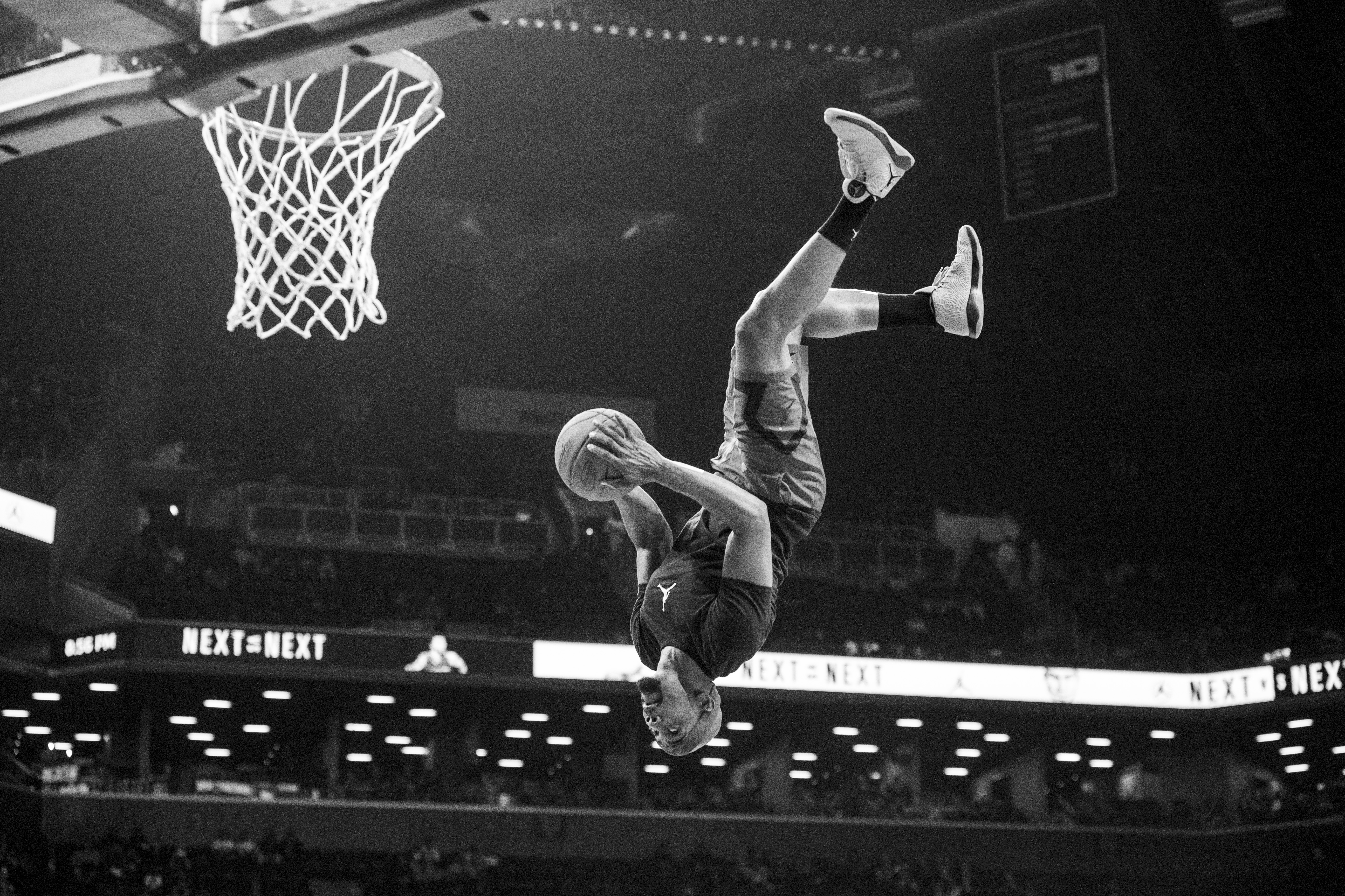 The Jordan Brand Classic men's game at the Barclays Center in Brooklyn, New York on Friday, April 15, 2016. (Photo by Taylor Baucom/The Players' Tribune)