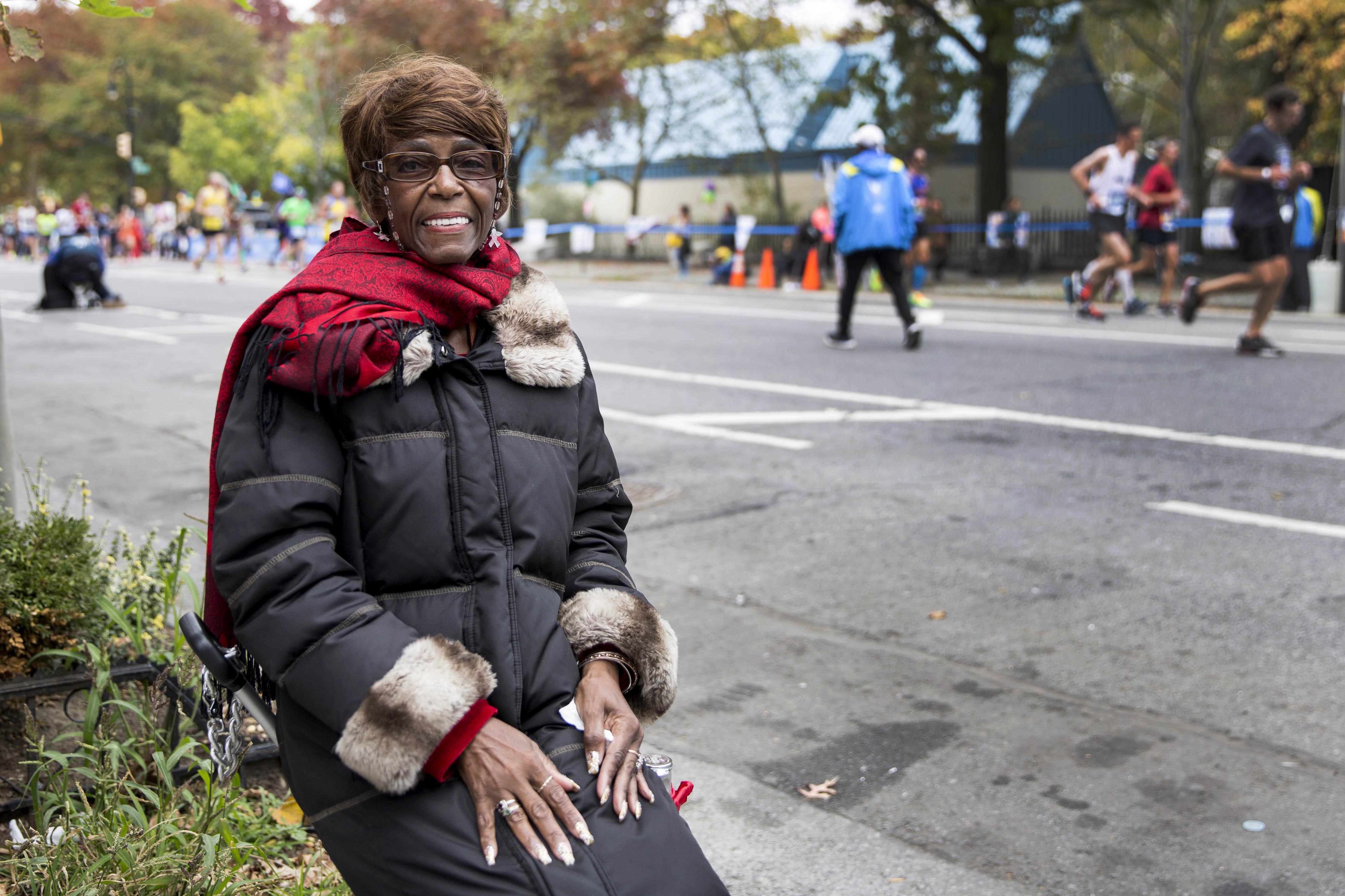 2015 New York City Marathon (Photo by Taylor Baucom/The Players' Tribune)