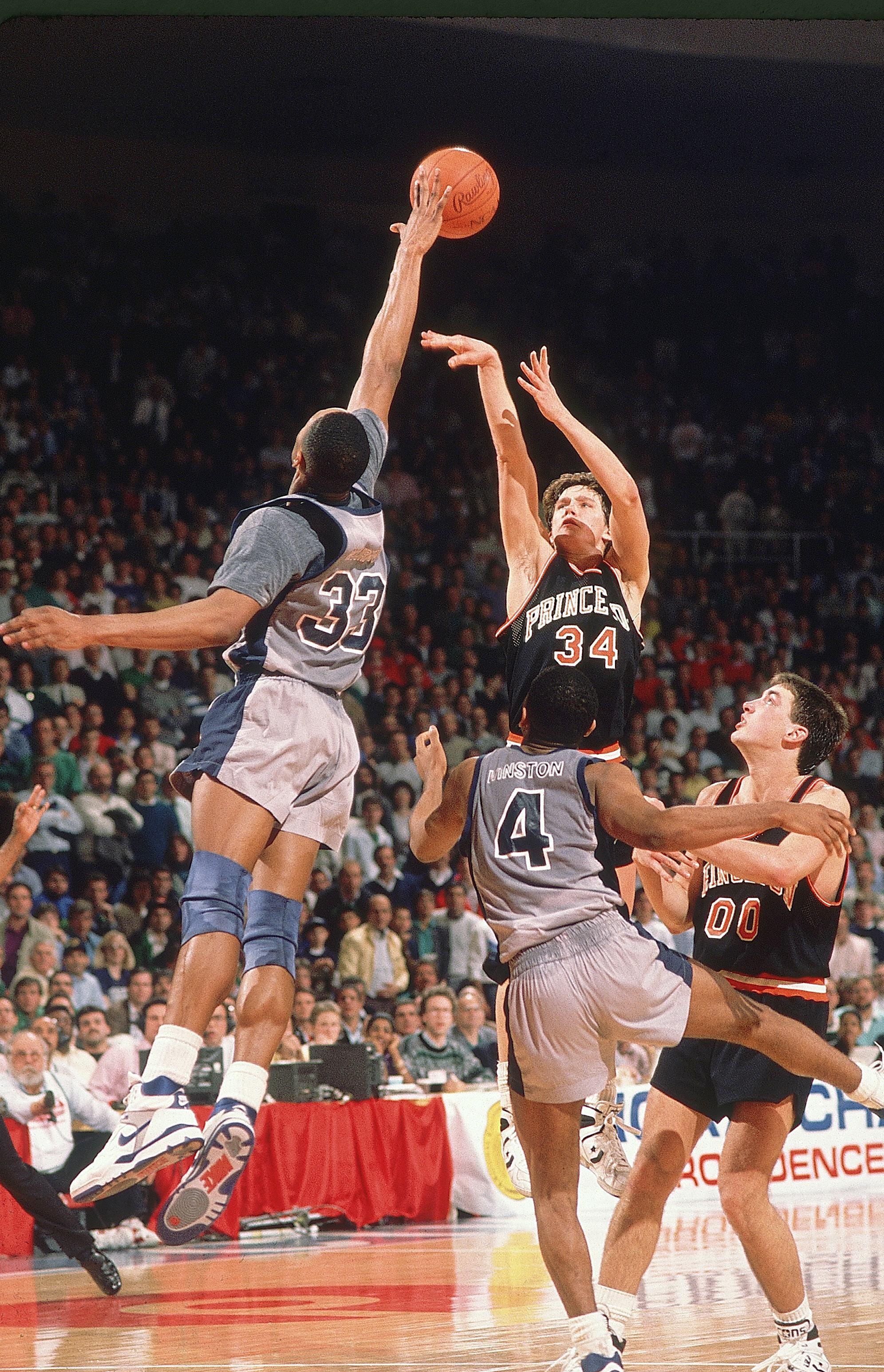 Georgetown University vs Princeton University, 1989 NCAA East Regional Playoffs Round 1