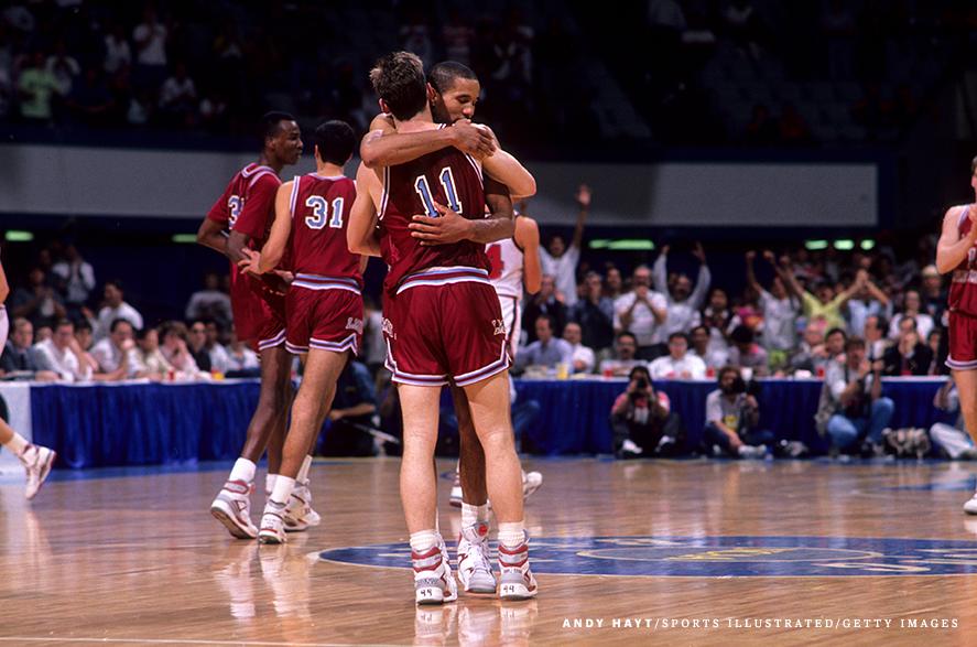 New Mexico State University vs Loyola Marymount University, 1990 NCAA Playoffs West Regional First Round