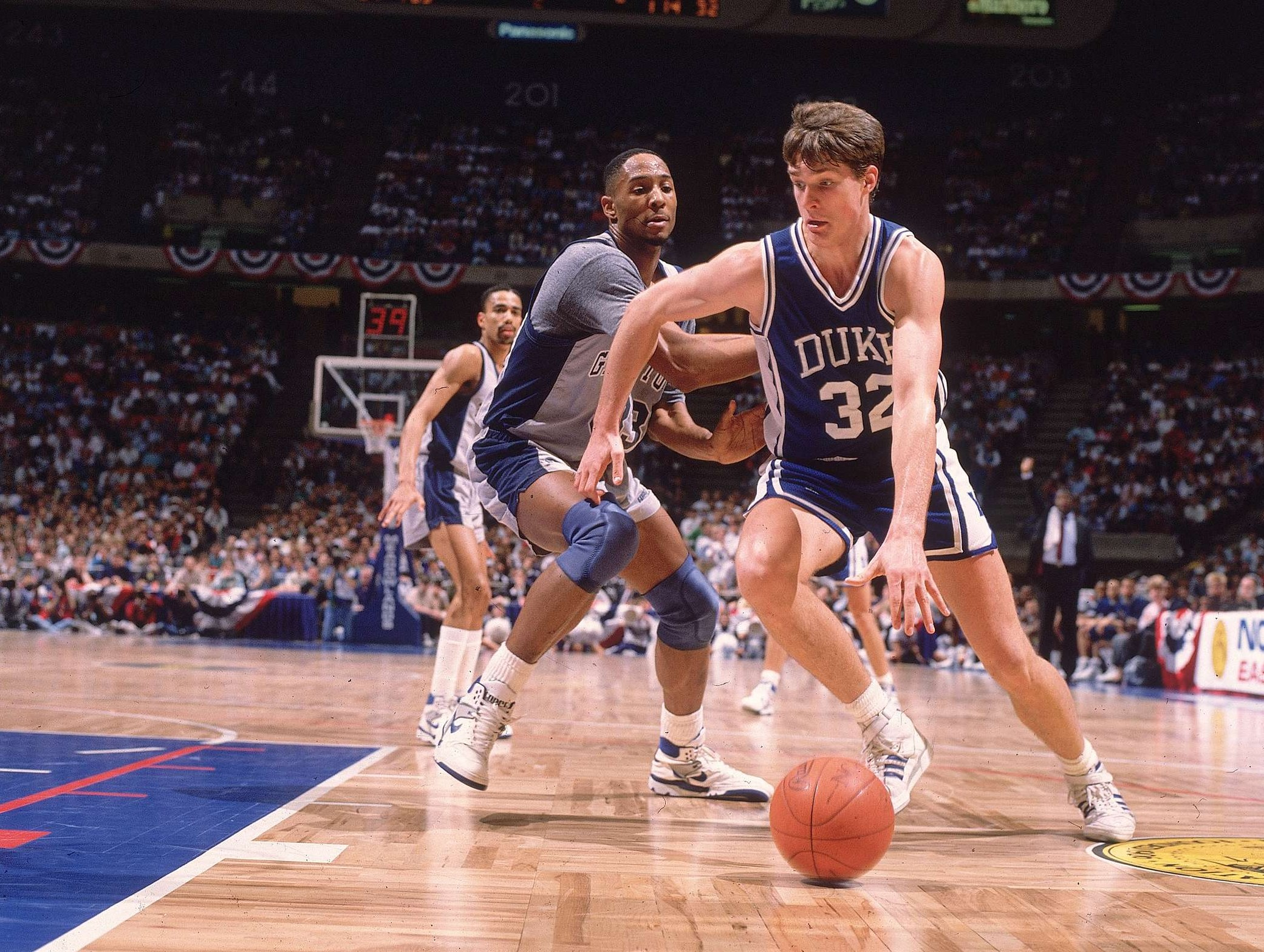 Georgetown University vs Duke University, 1989 NCAA East Regional Finals