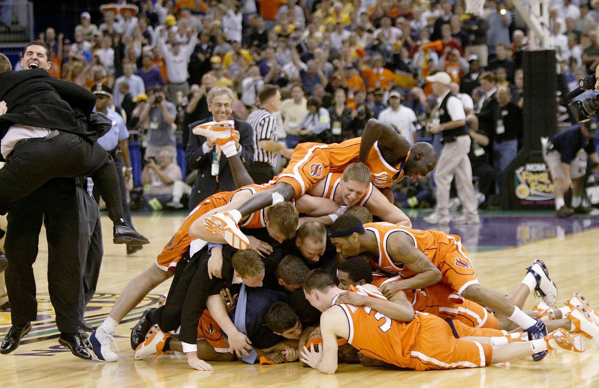 Syracuse celebrates