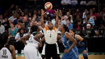 New York Liberty versus Minnesota Lynx at Maddison Square Garden in New York City on August 28, 2015. The Liberty won 81 to 68. (Photo by Annie Flanagan/The Players Tribune)