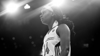 The NY Liberty playing Atlanta at Madison Square Garden. The liberty won in overtime 80 to 75.  (Photo by Annie Flanagan/The Players Tribune)