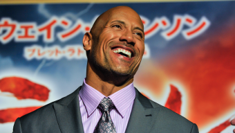 TOKYO, JAPAN - OCTOBER 19: Dwayne Johnson attends the Japan Premiere of 'Hercules' at the Toho Cinemas on October 19, 2014 in Tokyo, Japan. (Photo by Keith Tsuji/Getty Images for Paramount)