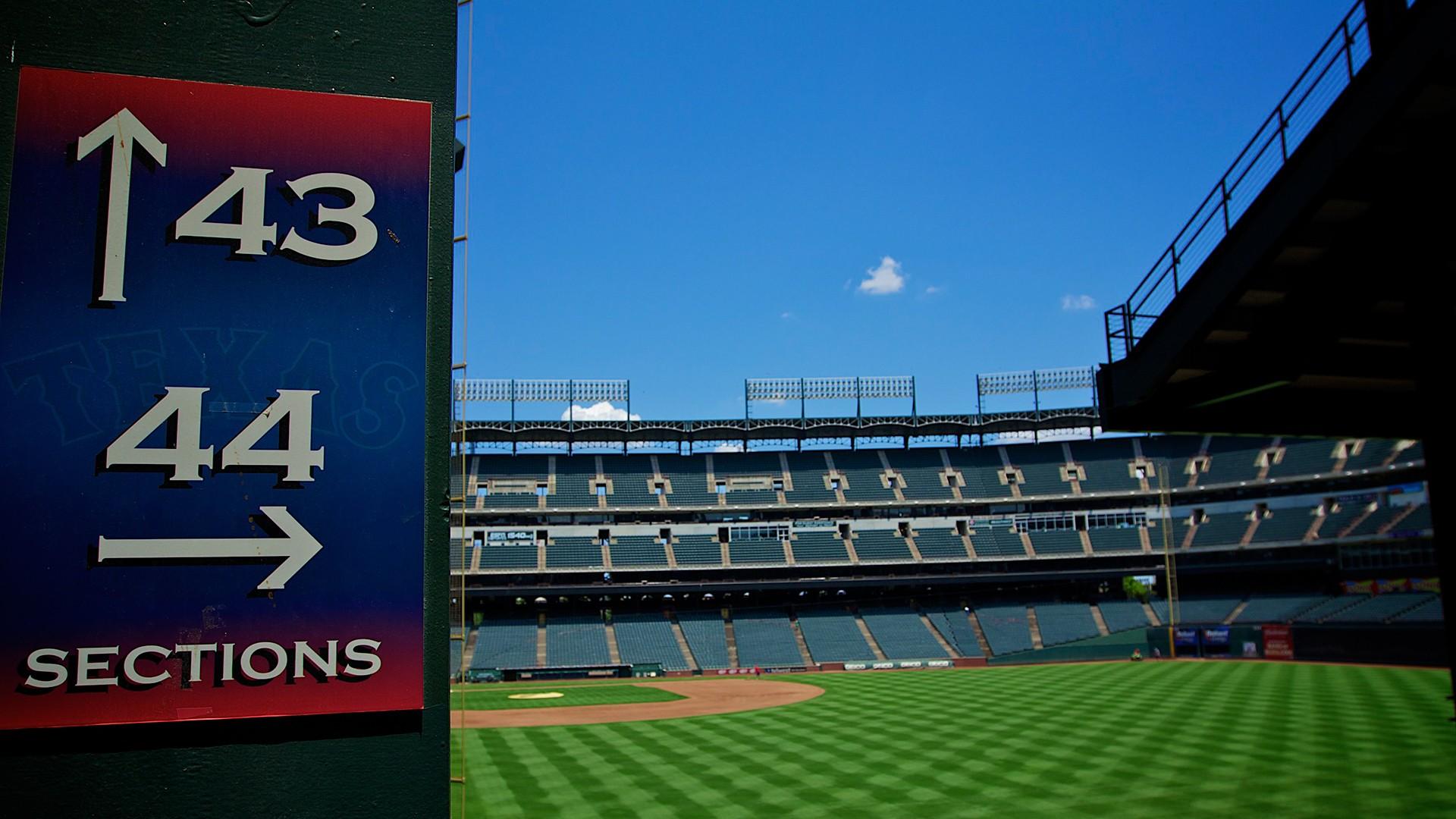 The Ballpark at Arlington.