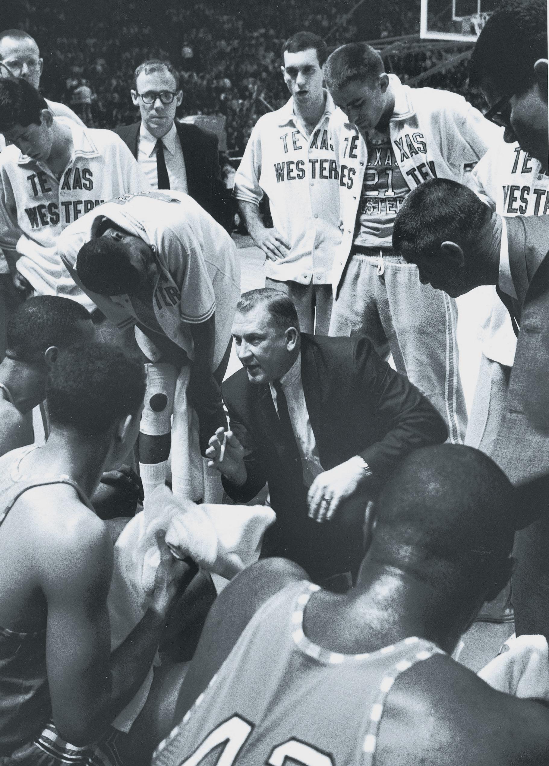 Texas Western Coach Don Haskins, 1966 NCAA National Championship
