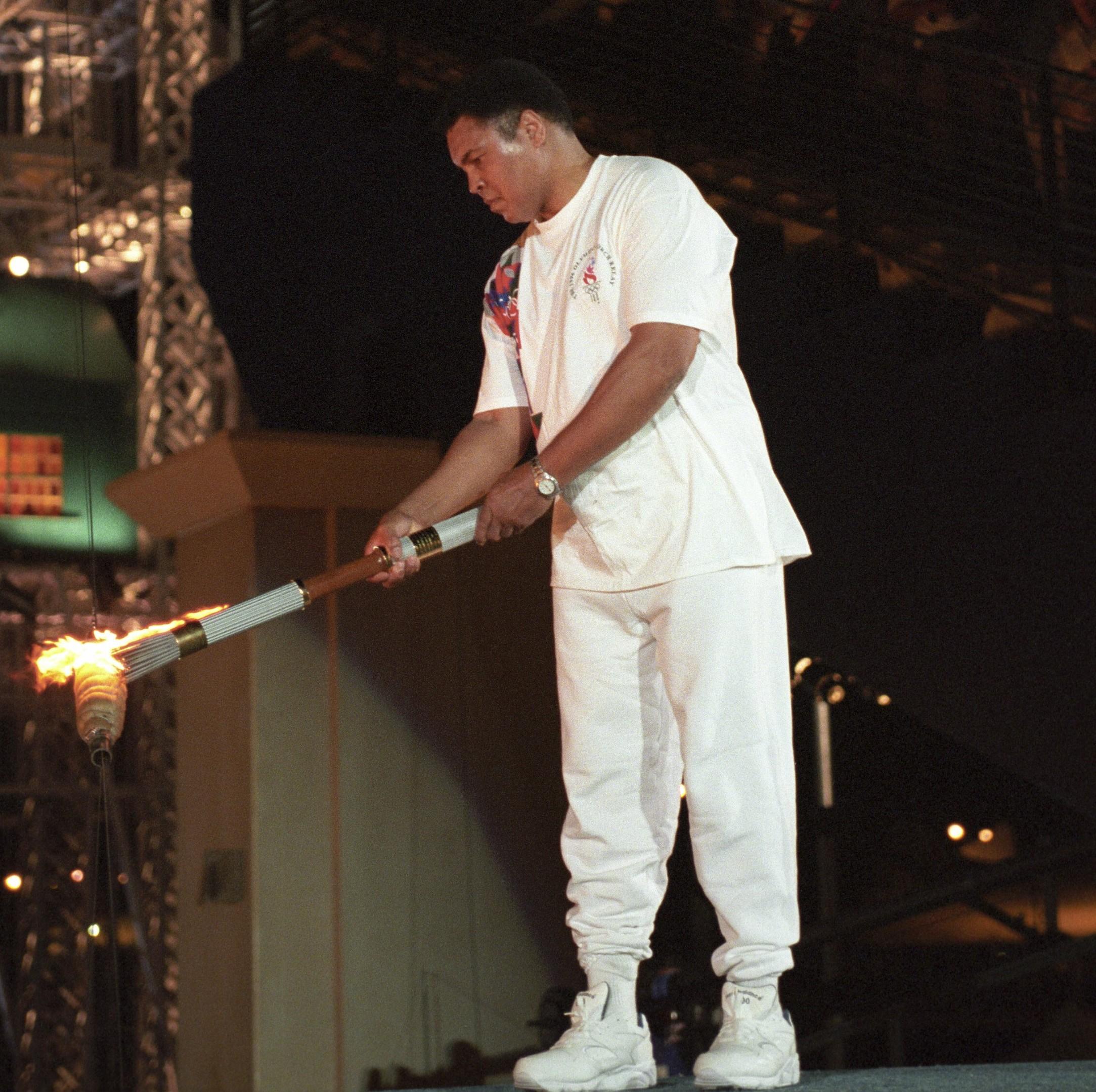 Muhammad Ali, 1996 Summer Olympics