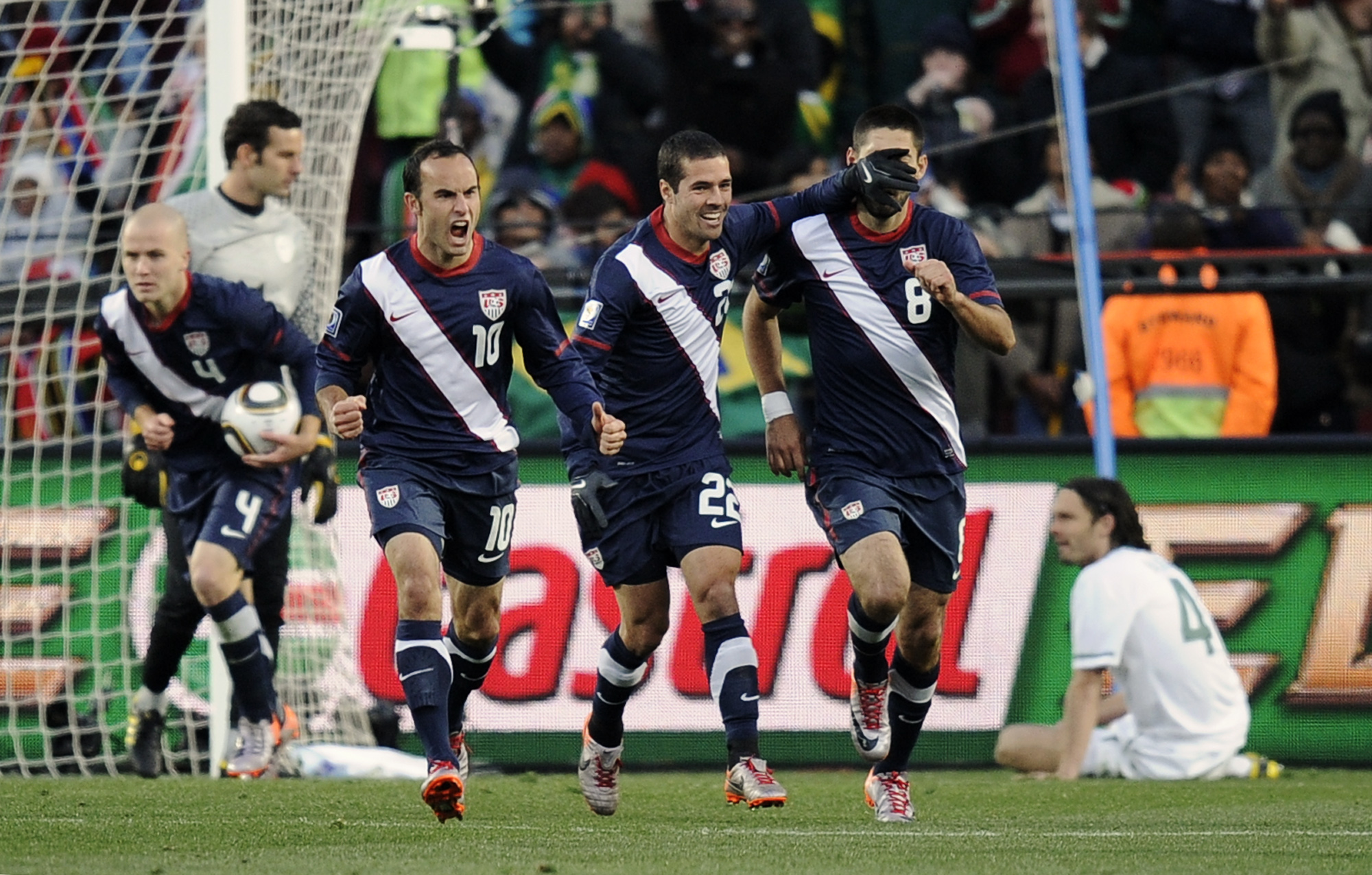 South Africa Soccer WCup Slovenia USA