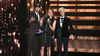 Cole Swindell, Heather O'Reilley, Megan Rapinoe