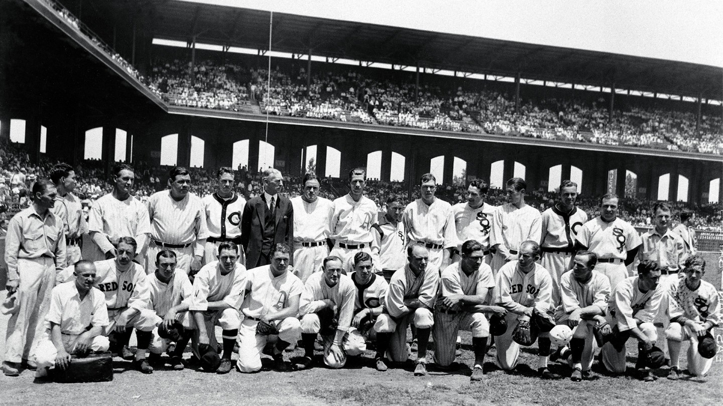 In 1933, the American League won the first All-Star game, 4-2, at Comiskey Park in Chicago.