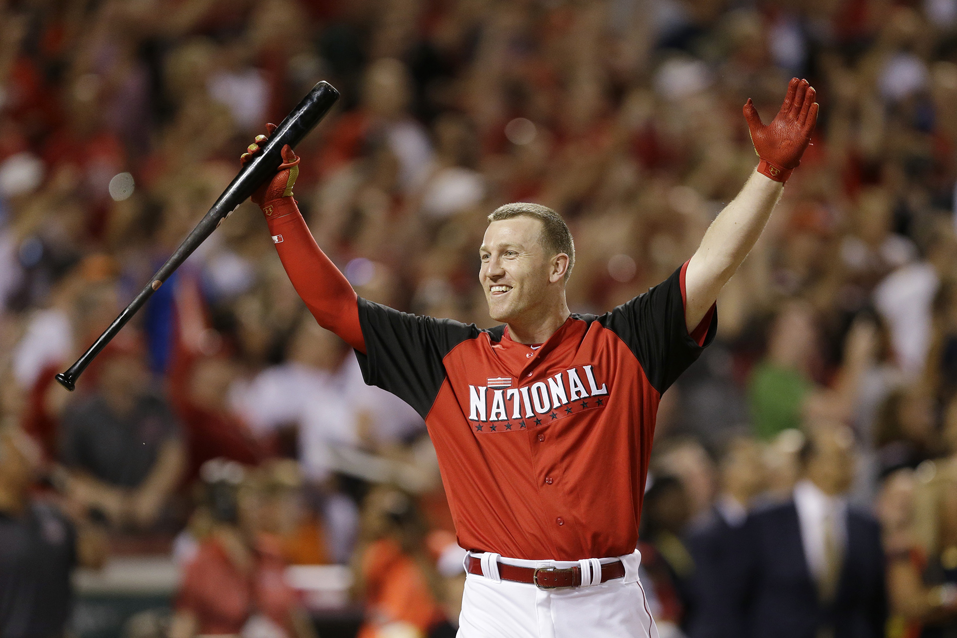 On July 13, 2015, Todd Frazier won the first-ever Home Run Derby where players were timed in their at-bats and outs were not recorded.