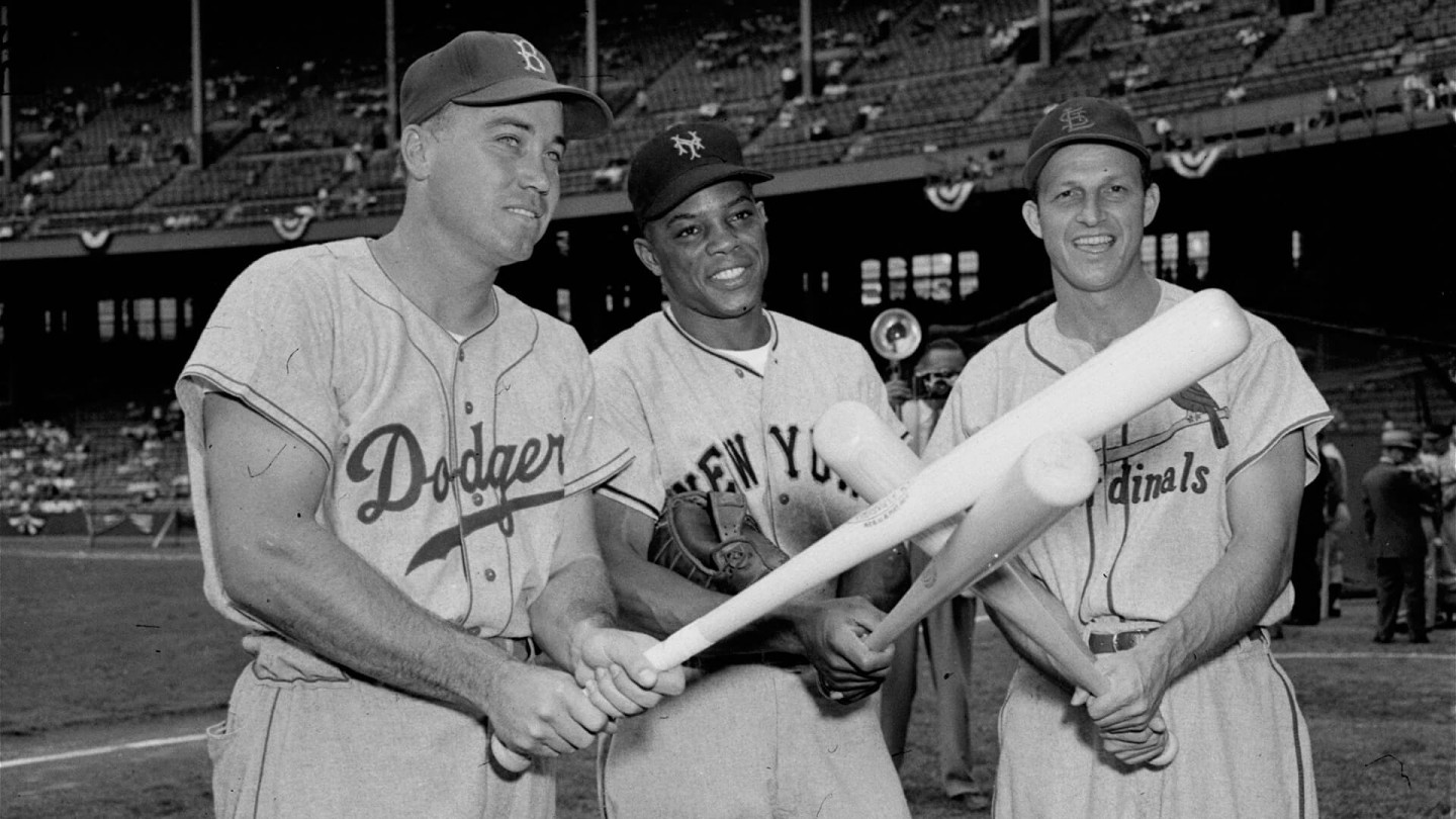 In 1954, Willie Mays played in his first All-Star game. He went on to play in 23 more of them.