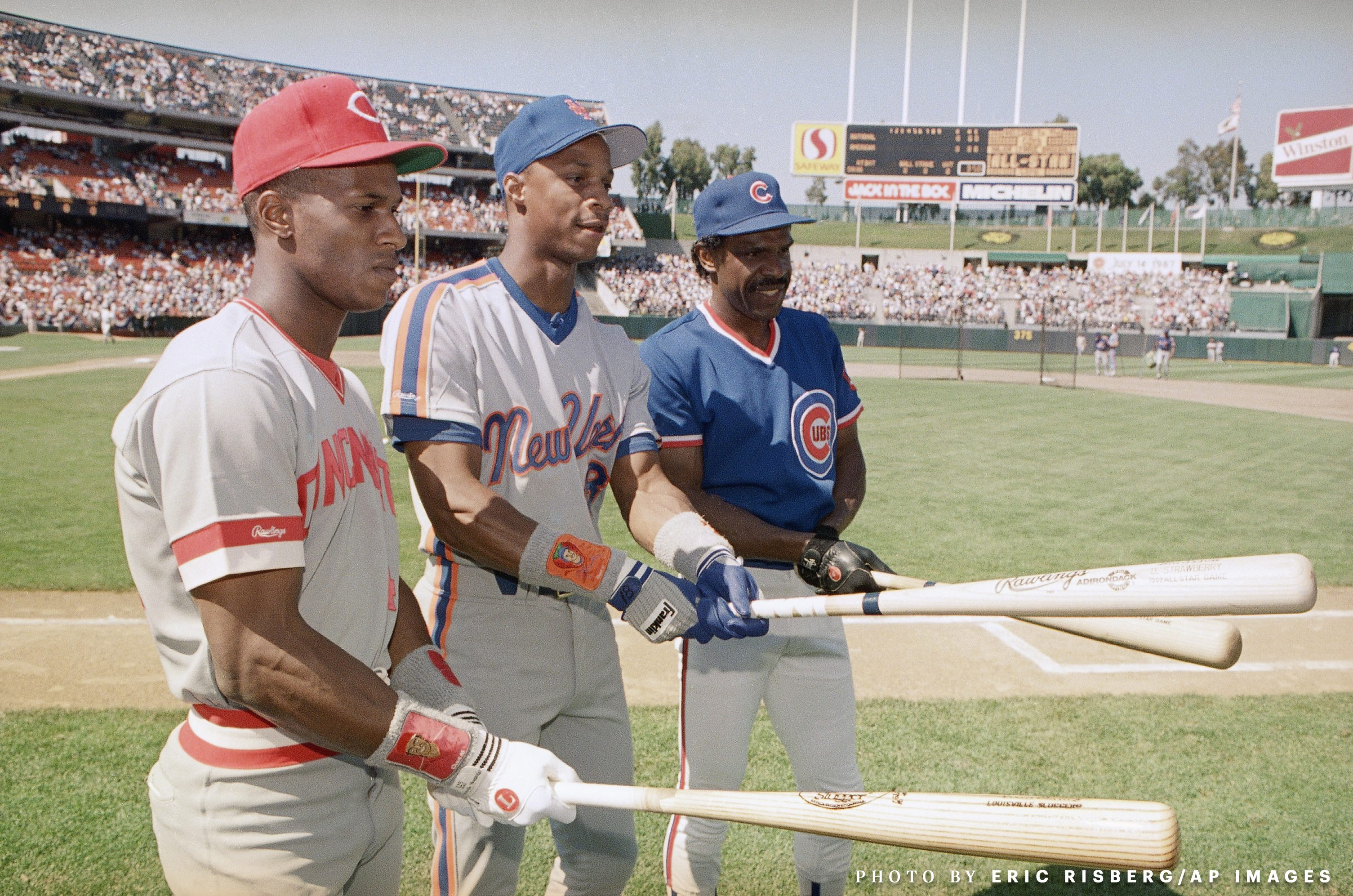 Baseball Games All Star 1987 Oakland