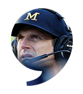 Jim Harbaugh, J. Ira and Nicki Harris Head Football Coach / University of Michigan - The Players' Tribune