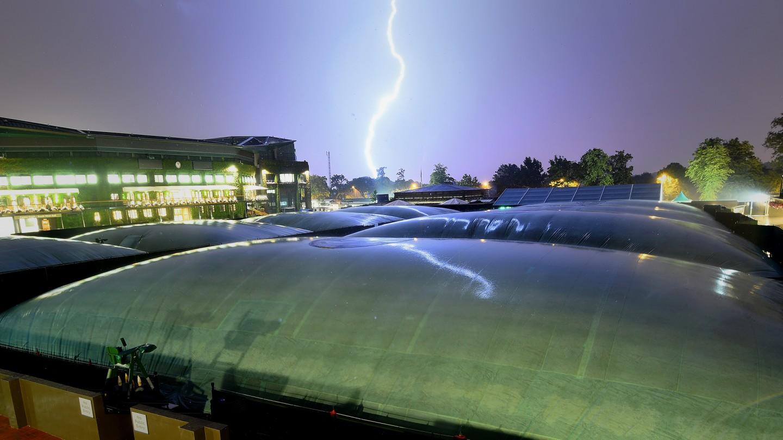 Lightning strike at midnight, Day 5.