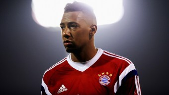 DOHA, QATAR - JANUARY 10: Jerome Boateng leaves the pitch during day 2 of the Bayern Muenchen training camp at ASPIRE Academy for Sports Excellence on January 10, 2015 in Doha, Qatar.  (Photo by Alex Grimm/Bongarts/Getty Images)
