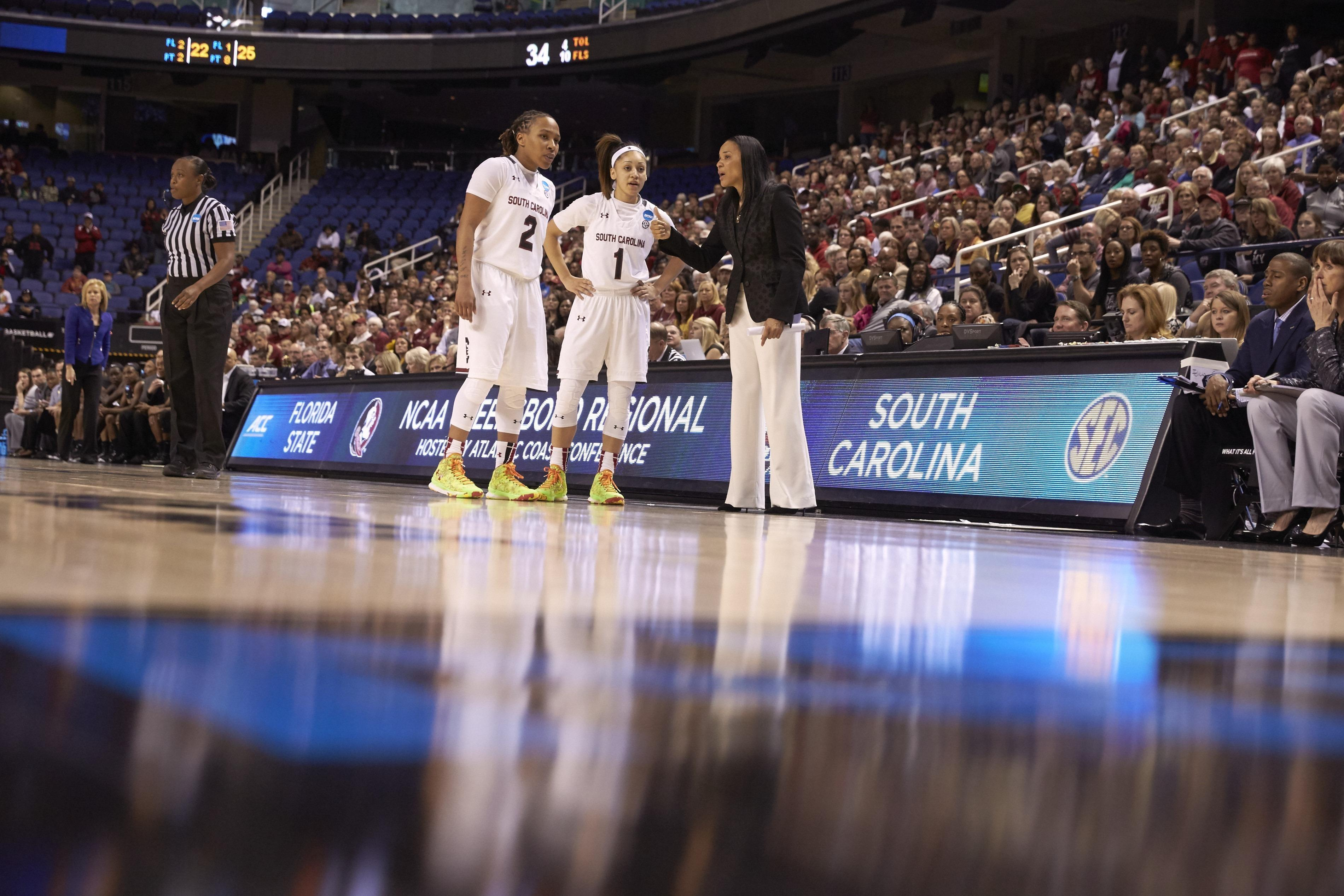 University of South Carolina vs Florida State University, 2015 NCAA Women's Greensboro Regional Finals
