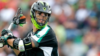 HEMPSTEAD, NY - MAY 16:  Paul Rabil #99 of the New York Lizards in action against the Chesapeake Bayhawks at James M. Shuart Stadium on May 16, 2015 in Hempstead, New York. New York Lizards defeated the Chesapeake Bayhawks 15-14  (Photo by Mike Stobe/Getty Images)