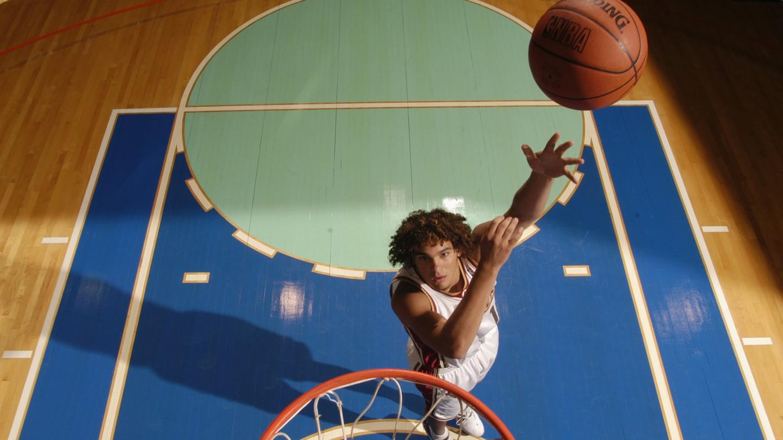 2004 NBA Rookie shoot
