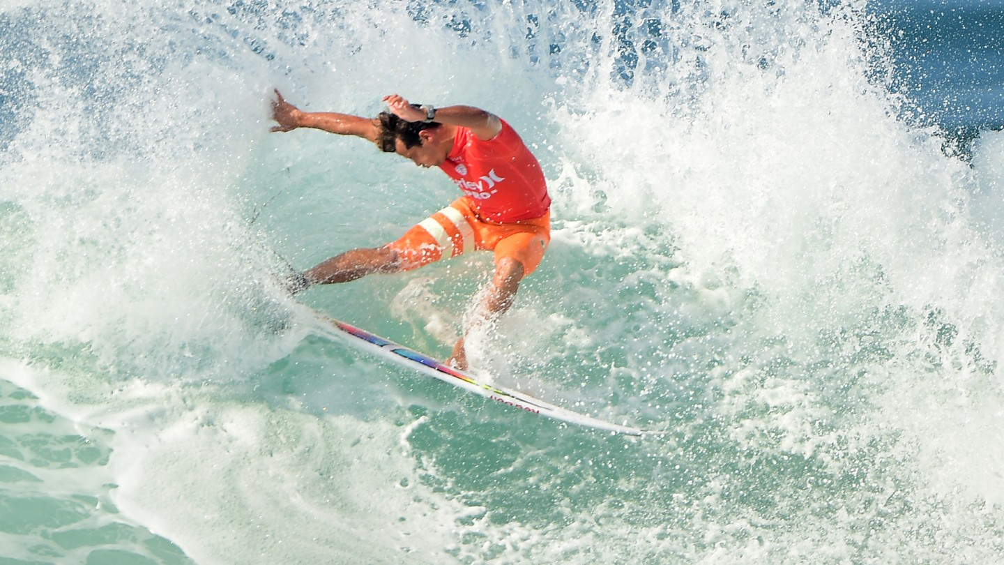 Julian Wilson with style.