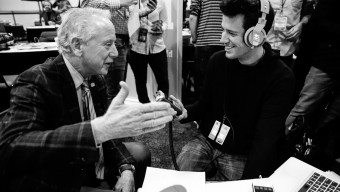 Radio Row at Super Bowl 50 in San Francisco, on February 4, 2016. (Photo by Jed Jacobsohn for the Players' Tribune)